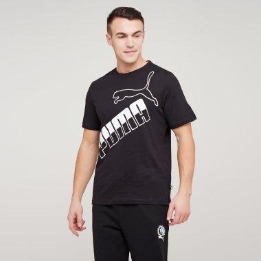 Футболки puma Big Logo Tee - 128305, фото 1 - інтернет-магазин MEGASPORT