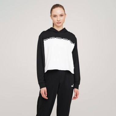 Кофты puma Amplified Cropped Hoodie - 127974, фото 1 - интернет-магазин MEGASPORT