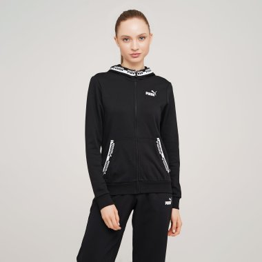 Кофты puma Amplified Full-Zip Hoodie - 127976, фото 1 - интернет-магазин MEGASPORT