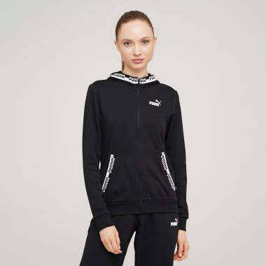 Кофти puma Amplified Full-Zip Hoodie - 127976, фото 1 - інтернет-магазин MEGASPORT