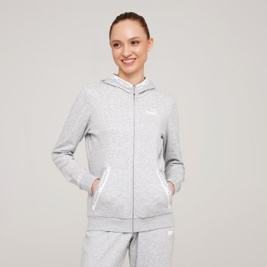 Кофти puma Amplified Full-Zip Hoodie - 127977, фото 1 - інтернет-магазин MEGASPORT