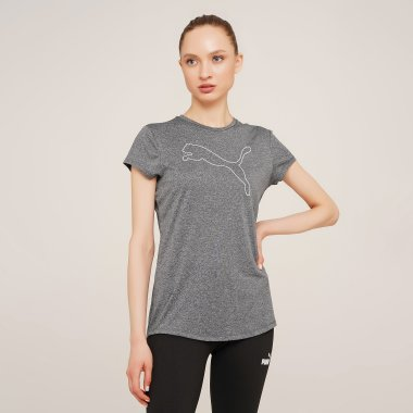 Футболки puma Rtg Heather Logo Tee - 127989, фото 1 - интернет-магазин MEGASPORT