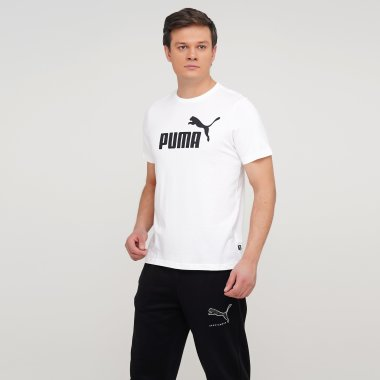 Футболки puma Ess Logo Tee - 127992, фото 1 - интернет-магазин MEGASPORT