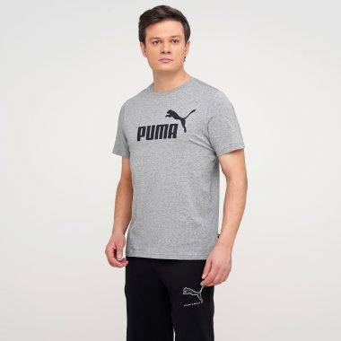 Футболки puma Ess Logo Tee - 127993, фото 1 - интернет-магазин MEGASPORT