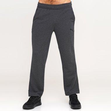 Спортивные штаны puma Ess Logo Pants - 128371, фото 1 - интернет-магазин MEGASPORT