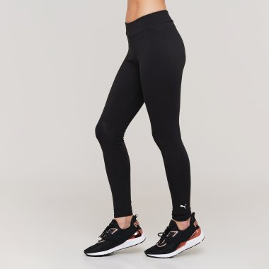 Лосины puma Ess Logo Leggings - 128378, фото 1 - интернет-магазин MEGASPORT