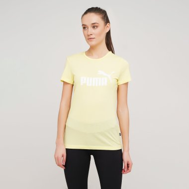 Футболки puma Ess Logo Heather Tee - 128383, фото 1 - интернет-магазин MEGASPORT