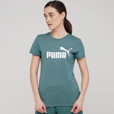 Футболки puma Ess Logo Heather Tee - 134939, фото 1 - інтернет-магазин MEGASPORT