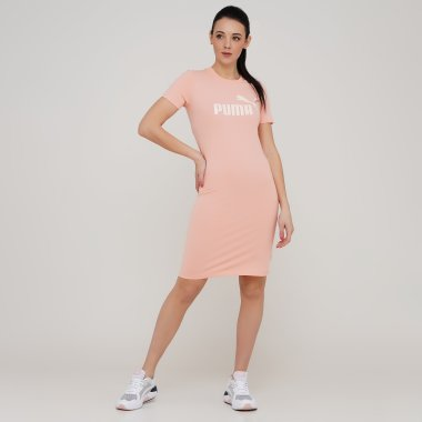 Платья puma Ess Slim Tee Dress - 128387, фото 1 - интернет-магазин MEGASPORT