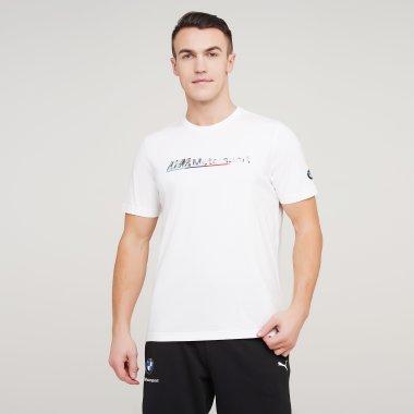 Футболки puma Bmw Mms Logo Tee+ - 128395, фото 1 - интернет-магазин MEGASPORT
