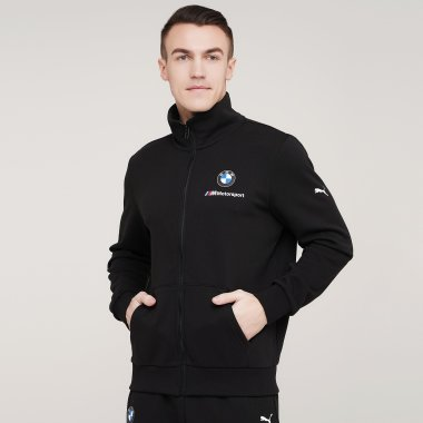Кофты puma Bmw Mms Ess Sweat Jacket - 128396, фото 1 - интернет-магазин MEGASPORT