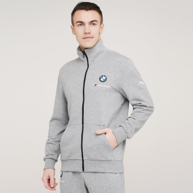 Кофты puma Bmw Mms Ess Sweat Jacket - 128397, фото 1 - интернет-магазин MEGASPORT