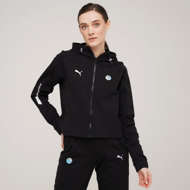 Кофти puma Bmw Mms Wmn Sweat Jacket - 128406, фото 1 - інтернет-магазин MEGASPORT