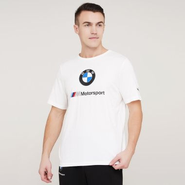 Футболки puma Bmw Mms Ess Logo Tee - 128425, фото 1 - интернет-магазин MEGASPORT