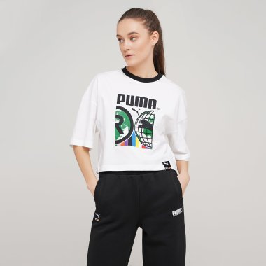 Футболки puma Pi Graphic Tee - 128427, фото 1 - интернет-магазин MEGASPORT