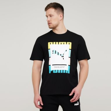 Футболки puma Summer Court Graphic Tee - 134949, фото 1 - интернет-магазин MEGASPORT