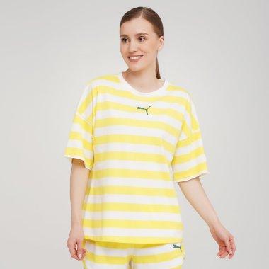 Футболки puma Summer Stripes Aop Tee - 140029, фото 1 - інтернет-магазин MEGASPORT