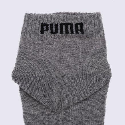 Носки Puma Unisex Quarter Plain 3p - 112142, фото 2 - интернет-магазин MEGASPORT