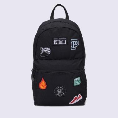 Рюкзаки puma PUMA Patch Backpack - 140121, фото 1 - інтернет-магазин MEGASPORT