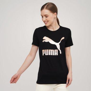 Футболки puma Classics Logo Tee (s) - 140421, фото 1 - інтернет-магазин MEGASPORT