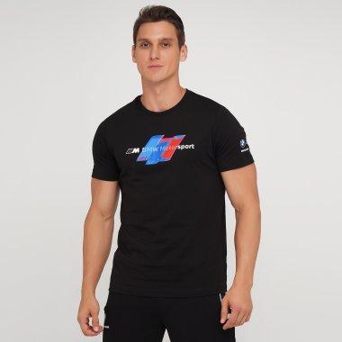 Футболки puma Bmw Mms Logo Tee+ - 140445, фото 1 - интернет-магазин MEGASPORT