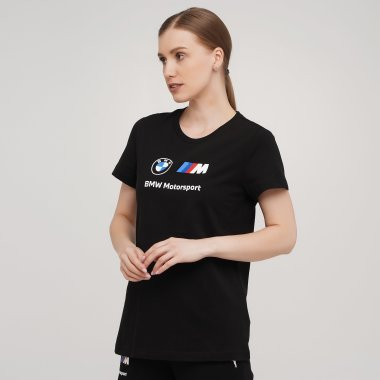 Футболки puma BMW MMS Wmn ESS Logo Tee - 140450, фото 1 - інтернет-магазин MEGASPORT