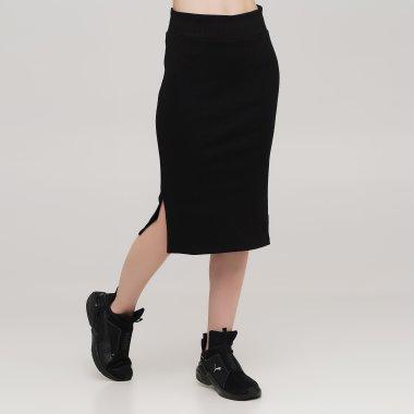 Спідниці puma Classics Ribbed Midi Skirt - 140459, фото 1 - інтернет-магазин MEGASPORT