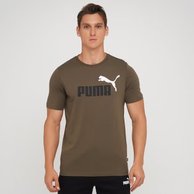 Футболки puma Ess+ 2 Col Logo Tee - 140590, фото 1 - інтернет-магазин MEGASPORT