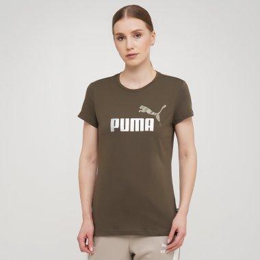 Футболки puma Ess+ Metallic Logo Tee - 140599, фото 1 - интернет-магазин MEGASPORT