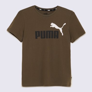 Футболки puma Ess+ 2 Col Logo Tee B - 140606, фото 1 - інтернет-магазин MEGASPORT