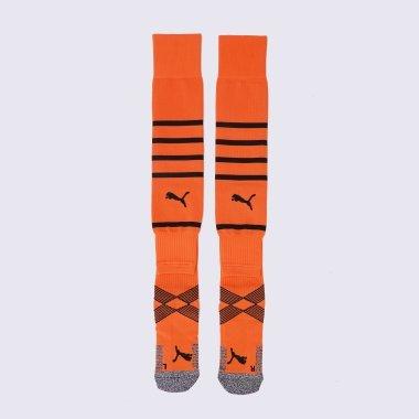 Гетри та Щитки puma Team Fcsd Hooped Socks Promo - 140178, фото 1 - інтернет-магазин MEGASPORT