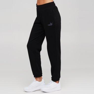Спортивні штани puma Essentials+ Embroidered Fleece Women's Pants - 140186, фото 1 - інтернет-магазин MEGASPORT