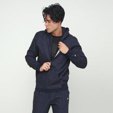 Кофта Champion Hooded Full Zip Sweatshirt - 112246, фото 1 - интернет-магазин MEGASPORT