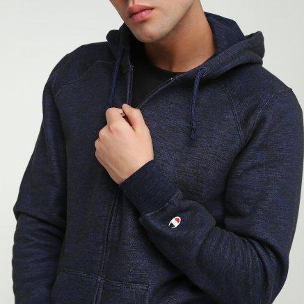 Кофта Champion Hooded Full Zip Sweatshirt - 112246, фото 4 - интернет-магазин MEGASPORT