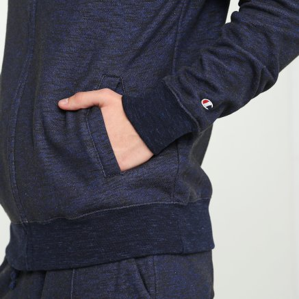 Кофта Champion Full Zip Sweatshirt - 112249, фото 6 - интернет-магазин MEGASPORT