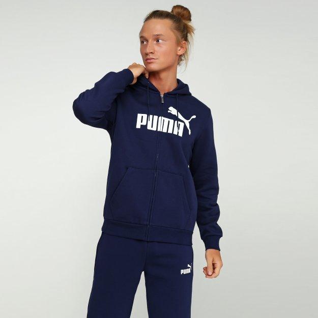 Кофта Puma Essentials Fleece Hooded Jkt - MEGASPORT