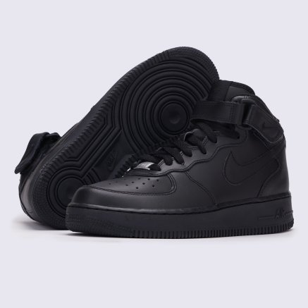 Кеди Nike Boys'  Air Force 1 Mid (Gs) Basketball Shoe - 119168, фото 2 - інтернет-магазин MEGASPORT