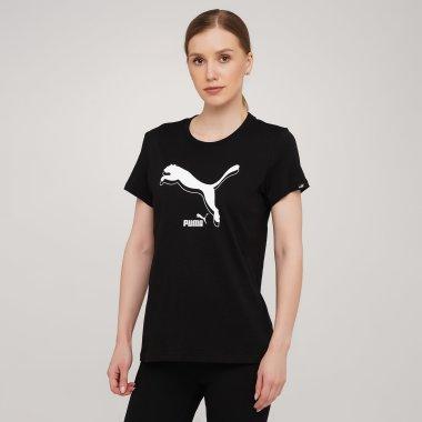 Футболки puma Power Logo Tee - 140517, фото 1 - интернет-магазин MEGASPORT