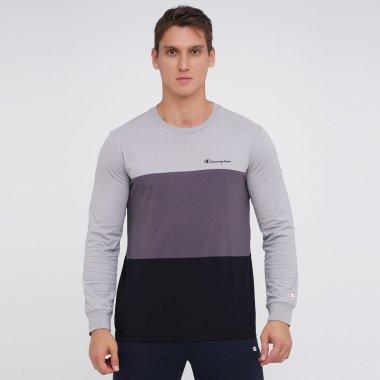 Футболки champion Long Sleeve Crewneck T-Shirt - 141804, фото 1 - інтернет-магазин MEGASPORT
