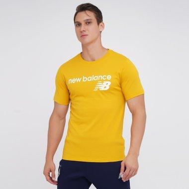 Футболки newbalance Nb Classic Core Logo Tee - 142127, фото 1 - інтернет-магазин MEGASPORT