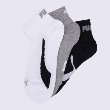 Шкарпетки puma Unisex Lifestyle Quarter 3p - 140871, фото 1 - інтернет-магазин MEGASPORT