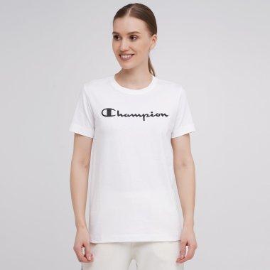Футболки champion Crewneck T-Shirt - 141716, фото 1 - інтернет-магазин MEGASPORT
