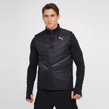 Куртки-жилети puma Run Elevated Padded Vest M - 140408, фото 1 - інтернет-магазин MEGASPORT