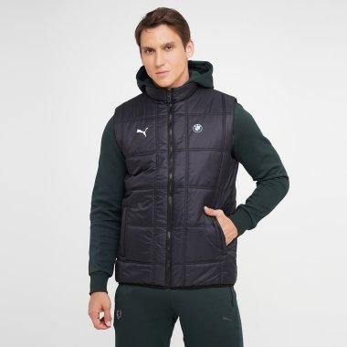 Куртки-жилети puma Bmw Mms Padded Vest - 140439, фото 1 - інтернет-магазин MEGASPORT