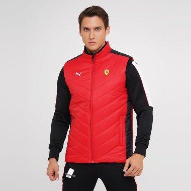Куртки-жилети puma Ferrari Race Padded Vest - 140465, фото 1 - інтернет-магазин MEGASPORT