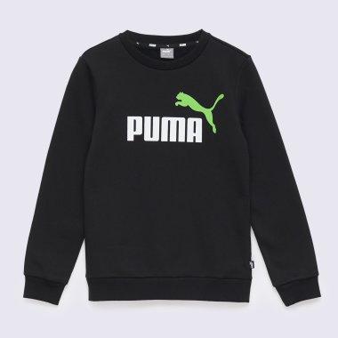 Кофты puma Ess, 2 Col Big Logo Crew Fl B - 140609, фото 1 - интернет-магазин MEGASPORT