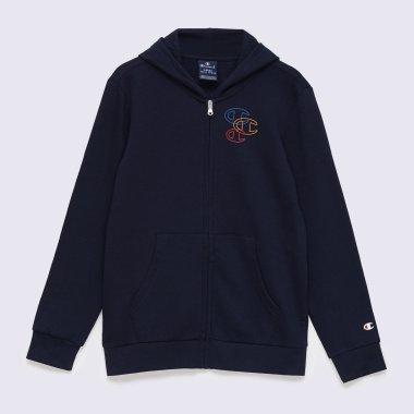 Кофты champion Hooded Full Zip Sweatshirt - 141843, фото 1 - интернет-магазин MEGASPORT