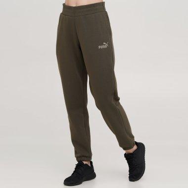 Спортивные штаны puma ESS+ Embroidered Pants FL cl - 140786, фото 1 - интернет-магазин MEGASPORT