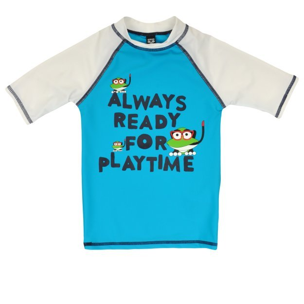 Футболка Arena Water Tribe Kids Boy Uv S/S Tee - MEGASPORT