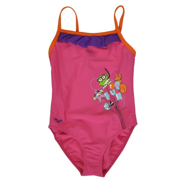 Купальник Arena Awt Rouche Kids Girl One Piece - MEGASPORT